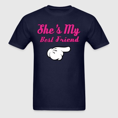 She's My Best Friend - Men's T-Shirt