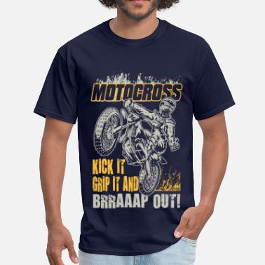 Motocross Motocross Kick It Stunt - Men's T-Shirt