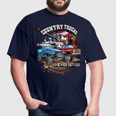 Country Off-Road Trucks - Men's T-Shirt