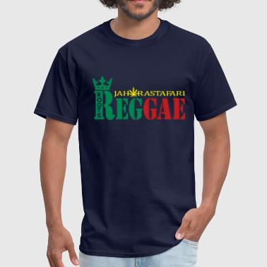 Reggae Roots Ragga Dance Hall Rasta roots reggae jah rastafari - Men's T-Shirt