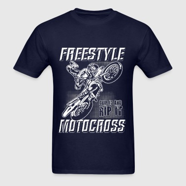 Freestyle Motocross Stunt - Men's T-Shirt