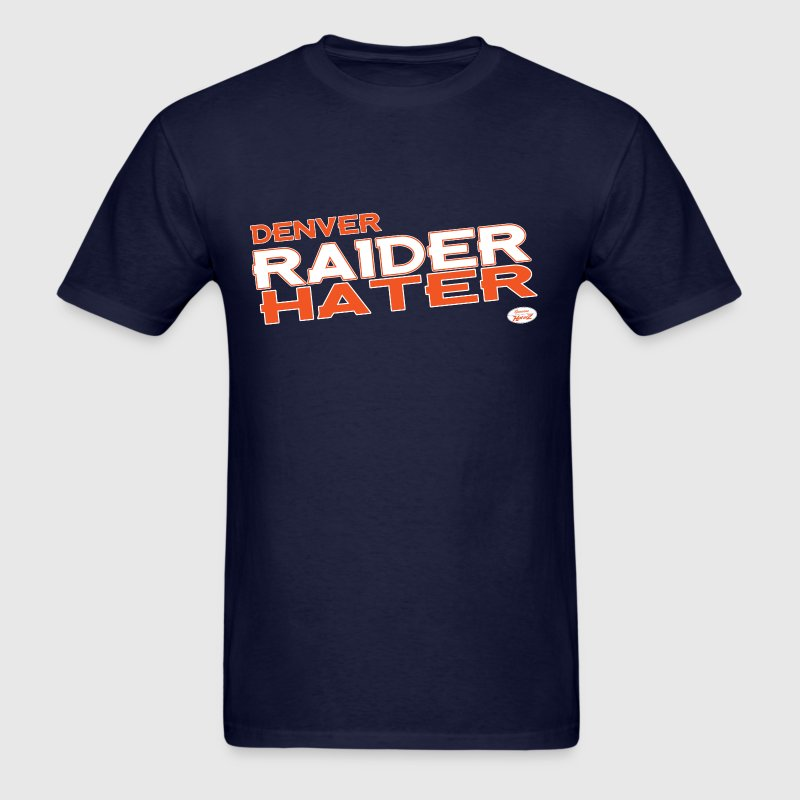 Denver Raider Hater - Men's T-Shirt