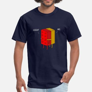 Cunnilingus Jokes Funny lego joke - Men's T-Shirt