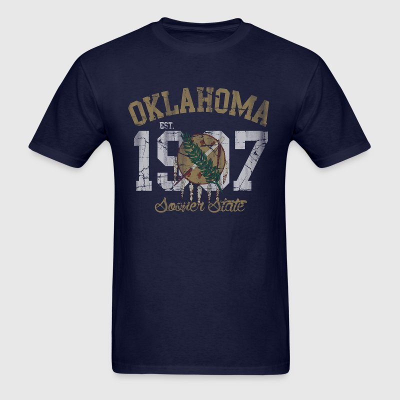 Oklahoma Sooner State - Men's T-Shirt