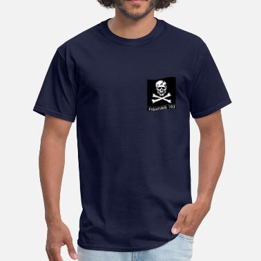 Squadron VFA-103 Jolly Rogers - Men's T-Shirt