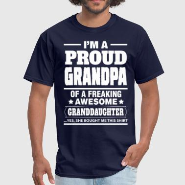 Proud Grandpa.... - Men's T-Shirt
