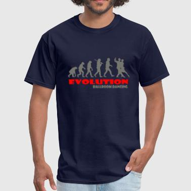 Ballroom dancing ape of Evolution - Men's T-Shirt