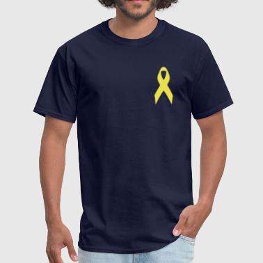 yellow ribbon - Men's T-Shirt