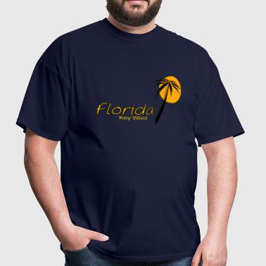 Key West island Straits of Florida - Men's T-Shirt