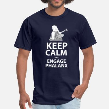 keepcalm and engage phalanx - Men's T-Shirt