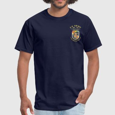 Special Forces 5thSFG3 WITH RIBBONS.png - Men's T-Shirt