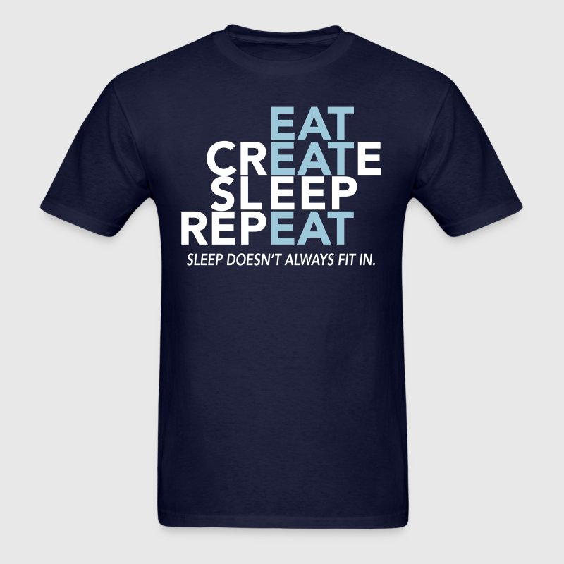 Sleep Doesn't Fit In - Men's T-Shirt