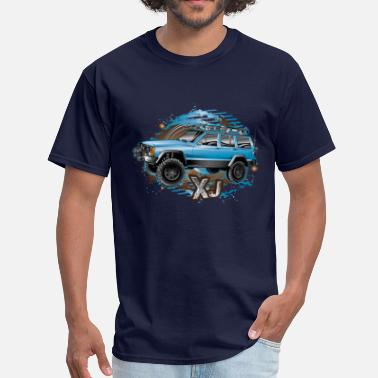 Jeep Cherokee XJ Jeep Cherokee Blue - Men's T-Shirt
