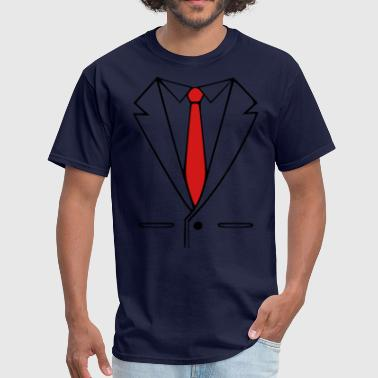 suit and tie - Men's T-Shirt