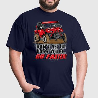 UTV Racer Life Pass - Men's T-Shirt