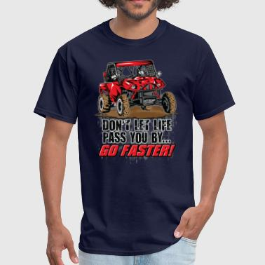 Atv Side By Side UTV Racer Life Pass - Men's T-Shirt