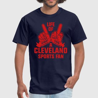 Cleveland Sports Cleveland Sports Fan - Men's T-Shirt