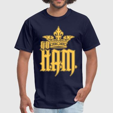 Go Ham Go HAM or Go H.A.M. - Men's T-Shirt