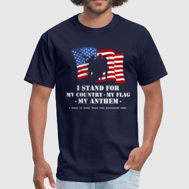 Stand For the Anthem 2 - Men's T-Shirt