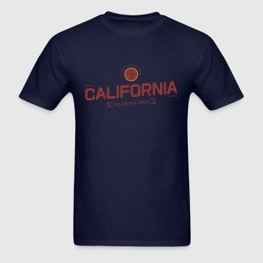 California Badge Design - Men's T-Shirt