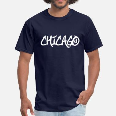 Chicago Rap Chicago Graffiti - Men's T-Shirt