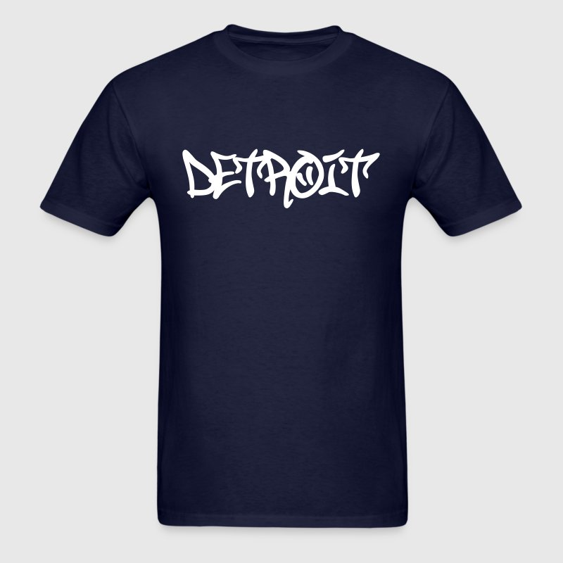 Detroit Graffiti - Men's T-Shirt