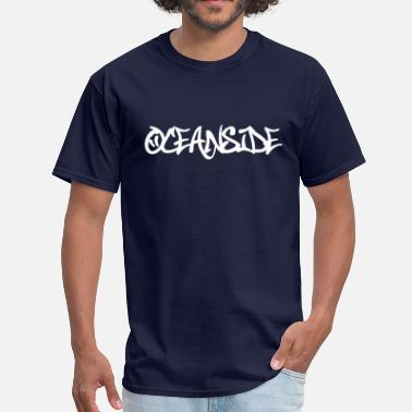 Oceanside Oceanside Graffiti - Men's T-Shirt