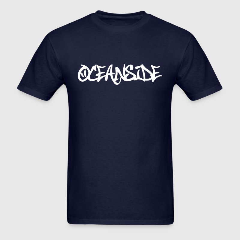 Oceanside Graffiti - Men's T-Shirt