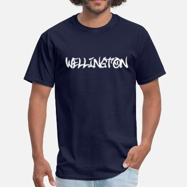 Wellington Wellington Graffiti - Men's T-Shirt