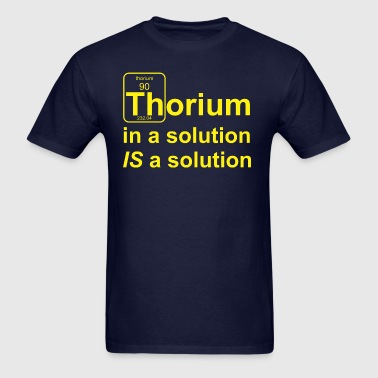 Thorium Solution b f - Men's T-Shirt