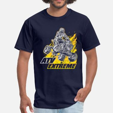 Atv Racing ATV Quad Extreme Blast - Men's T-Shirt