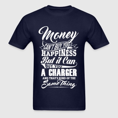 MONEY CHARGER WHITE - Men's T-Shirt