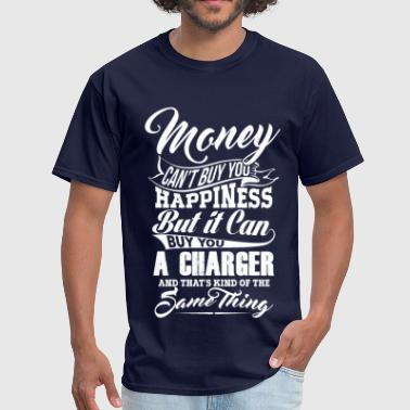 Dodge Charger MONEY CHARGER WHITE - Men's T-Shirt