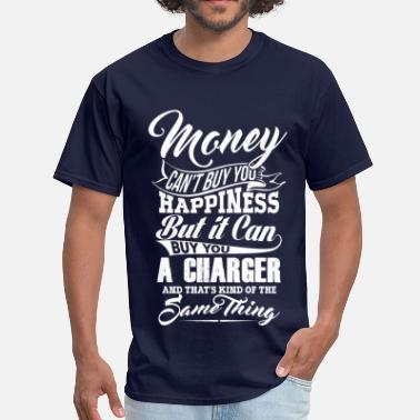Dodge MONEY CHARGER WHITE - Men's T-Shirt