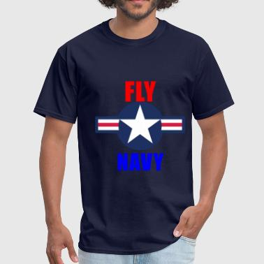 Fly Navy Naval Aviation Design - Men's T-Shirt