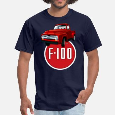 F100 Second generation Ford F-100 - Men's T-Shirt