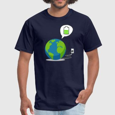 Recharge Recharge The World - Recharge The Earth - Men's T-Shirt