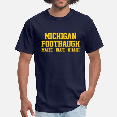Ann Arbaugh Michigan Footbaugh - Men's T-Shirt