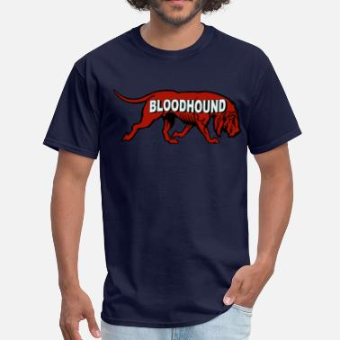 Old Advertising Bloodhound - Men's T-Shirt