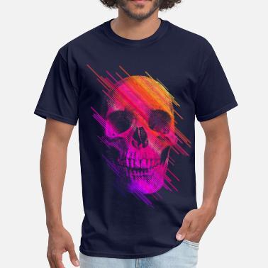 f06073f5 Skull Colorful Skull - Men's T-Shirt