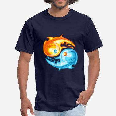 Fire And Ice Fire and ice - Men's T-Shirt