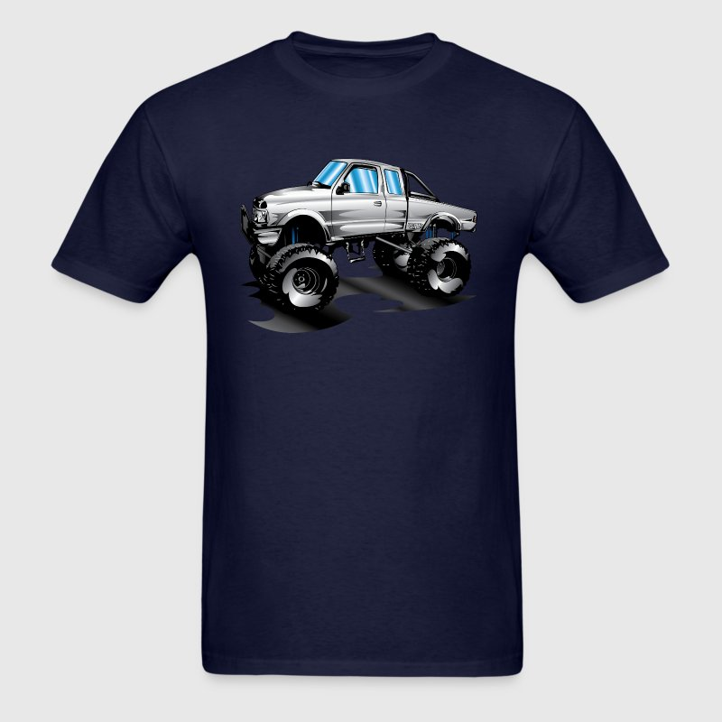 Lifted 4x4 Ford Truck - Men's T-Shirt