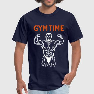 Dumb Tank Sports Wear gym time pixelart - Men's T-Shirt
