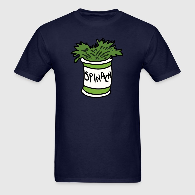 popeye spinach - Men's T-Shirt