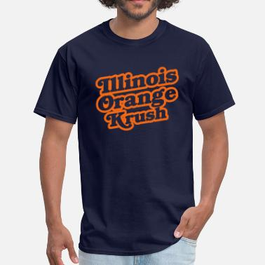 Illinois Basketball Orange Krush - Men's T-Shirt