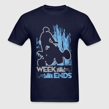 ATV Quad Week Ends - Men's T-Shirt