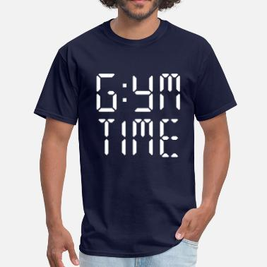 Atleticwear Gym Time Digital - Men's T-Shirt