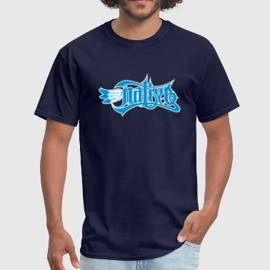 Native with Eagle Feathers - Men's T-Shirt