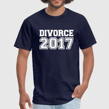 Divorce 2017 - Men's T-Shirt