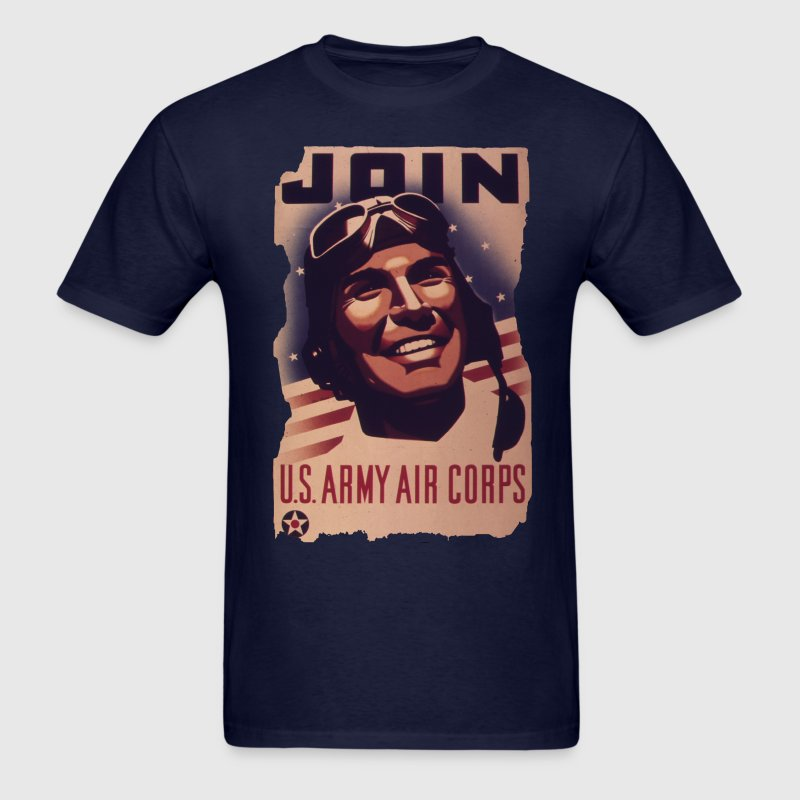 Vintage Army Air Corp - Men's T-Shirt